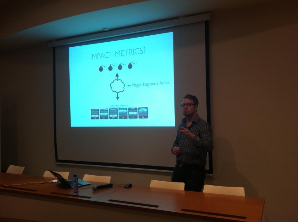 Stefan Friedli en Sourceconference Barcelona 2011