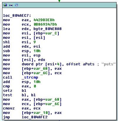 puts code
